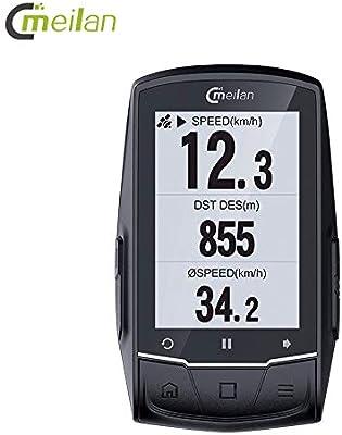 Walmeck- M1 Navegación GPS Ordenador para Bicicleta Peedómetro ...