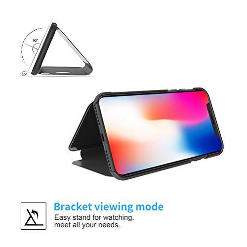 UKDANDANWEI Oppo F9 (Pro) Case,Electroplate Mirror Screen
