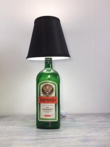 Bottle Lamp, Liquor Bottle Lamp Jagermeister, Jagermeister Lamp, Recycled  Glass Bottle, Man
