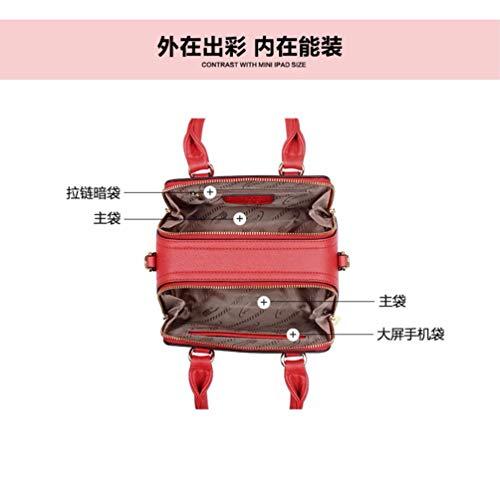 Multi bandoulière à bandoulière Cabas Pocket Sac XKB Long Portefeuille à Sac Femmes ERLINGSAN provisions à bandoulière Sac znqZCRCYw