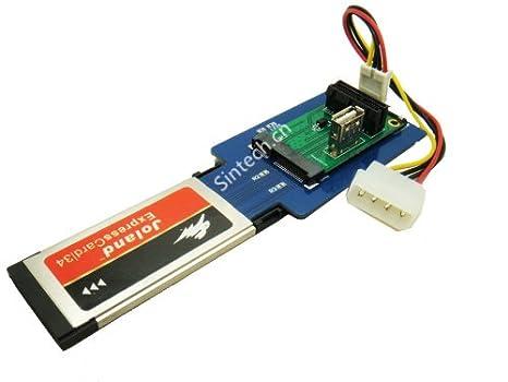 Sintech Tarjeta Expresscard 34 a Mini PCI-e o PCIe X1 ...