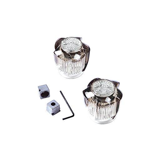 Danco 80848 Small Universal Faucet Handles, Smoke