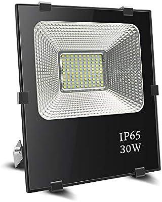 Foco led 30w, BeiLan LED Foco proyector exterior Super brillante ...