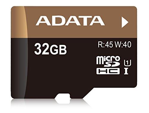 ADATA Premier Pro 32GB microSDHC UHS-I U1 Memory Card (AUSDH32GUI1-RA1) ()