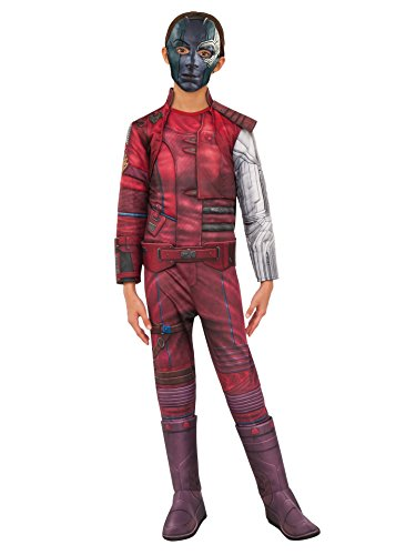 Rubie's Costume Guardians of The Galaxy Vol. 2 Child's Deluxe Nebula Costume, Multicolor, Large -
