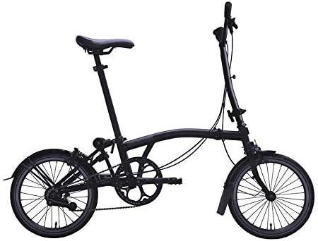 Brompton 2019 M6L Black Edition - Bicicleta Plegable: Amazon.es ...