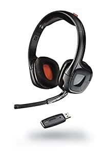 Plantronics GAMECOM 818 Wireless Stereo HEADSET EXTENDED GAMING SESSIONS PC, MAC PLAYSTATION 4