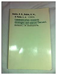Communication Research: Strategies and Sources