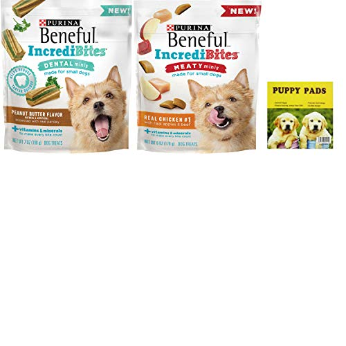 Purina Incredibites Meaty Dog Treats. Chicken and Peanut But