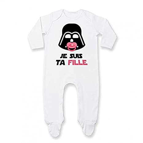 Pyjama b/éb/é Je suis ta Fille