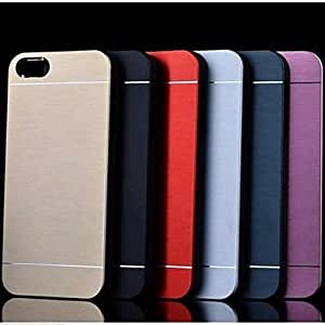 JJEMetal Finish Hard Back Case for iPhone 5/5S (Assorted Colors) , Pink