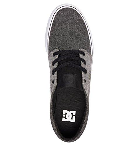 Hombre Trase Tx Shoes Para black battleship Zapatillas Dc Se Black xvqY5Cwwn