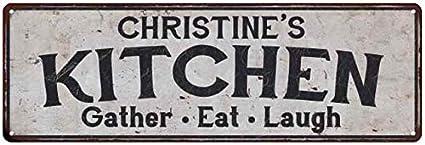 Amazon Com Christine S Kitchen Personalized Rustic Chic