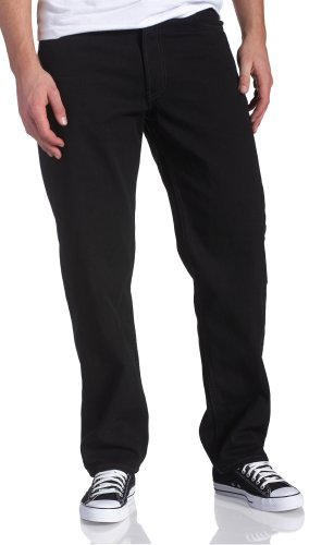 Levi's Men's 550 Relaxed Fit Jean - Big & Tall, Black, 50x30 ()