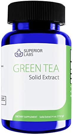 Superior Labs Green Tea Liquid Form Solid Extract – 4 oz – Supports Cellular Health and Healthy Immune Function – Promotes Health Metabolism