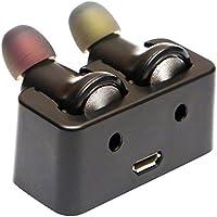 Mini Bluetooth Earbuds,FisherMo Zwei Ohren In-Ear Ohrhörer Headsets Sport Wireless Kopfhörer Stereo Musik Earphone mit Klare Mikrofon für Running Gym