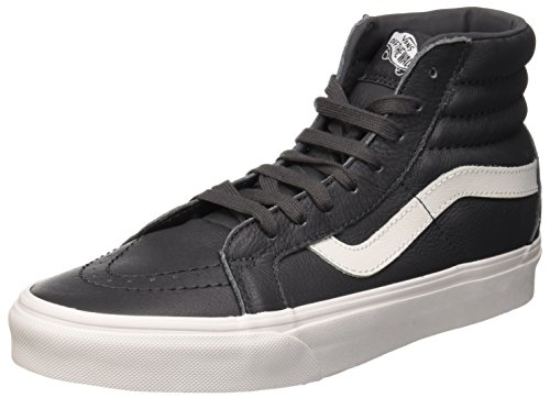 Blanc Unisex Leather asphalt Hi Vans Reissue Gris Sk8 Zapatillas Adulto pfIz6