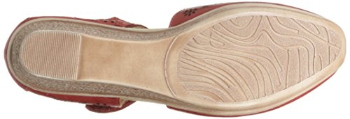 Wedge Sandal Women's Nougat Step Spring Red xqtFIx