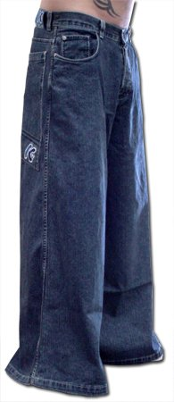 "Kikwear 38"" Severe Raver Pants (Blue Denim) #1-#2"