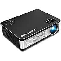 Kadoola Z720 Home Cinema Projector 1080P 3300 Lumens 1280x768 5.8 LCD Video Projector for Movie Games Party Entertainment with Free HDMI Cable