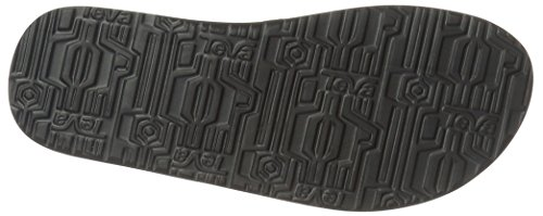 Teva Mush II TE.4168 - Chanclas para hombre Negro tartán