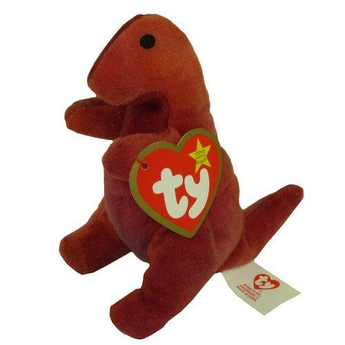TY Teenie Beanie Babies Rex the Tyrannosaurus Rex Stuffed Animal Plush Toy