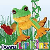 Lil Kinz Tree Frog & 3 Packs of Trading Cards [Toy] by Webkinz