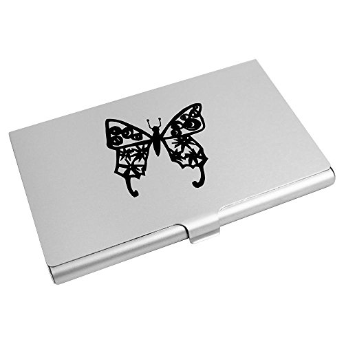 Business Holder Azeeda Butterfly' CH00003397 Card Wallet Credit 'Print Card zwzIEA