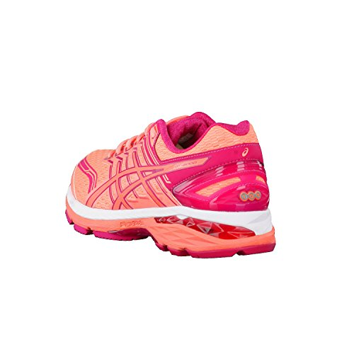 Asics Gt-2000 5, Chaussures de Running Entrainement Femme FLASH CORAL/CORAL PINK/BRIGHT ROSE