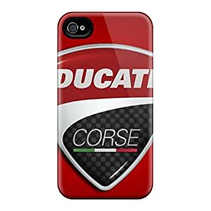 IanJoeyPatricia Iphone 6plus Bumper Cell-phone Hard Covers Support Personal Customs Stylish Ducati Corse Logo Pictures [tOV2912amAo]