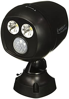 ONTEL NH-MC12/4 As seen On Tv Motion-Activated Security Spotlight