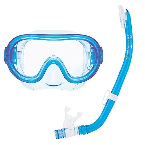 (ReefTourer Youth Single-Window Combo Set for Kids, Clear Blue)