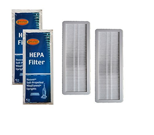 EnviroCare Replacement Vacuum HEPA Filters for Hoover Self-Propelled WindTunnel 2 (Best Hepa Filter For Hoovers)