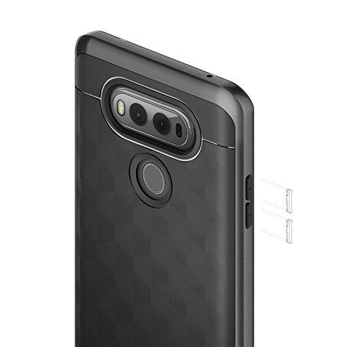 new product 5be52 b62e6 LG V20 Case, Caseology Modern Slim Geometric Design: Amazon.in ...