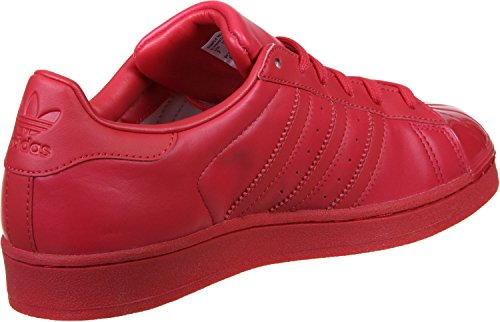 adidas Superstar Glossy Toe W Calzado 8,5 ray red/black