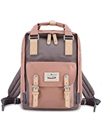 "School Waterproof Backpack 14.9"" College Vintage Travel Bag for Women,14 inch Laptop for Student"