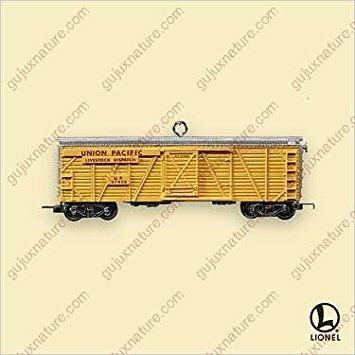 Hallmark Keepsake LIONEL Union Pacific Veranda Stockcar