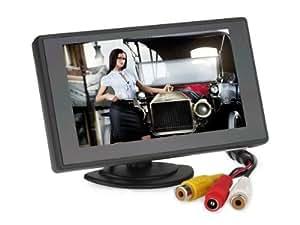 BW 4.3 '' TFT Color Monitor Monitor 480 x 272 Resolución y el coche del sistema de espejo retrovisor Monitor, mini monitor para automóvil / automóvil