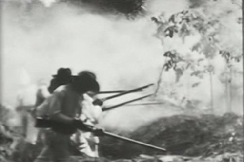 Capture of trenches at Candaba