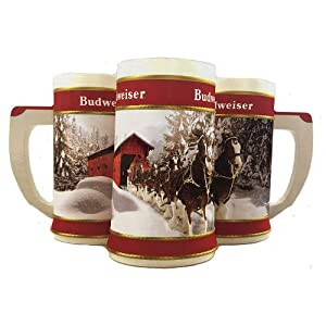 2019 Budweiser Holiday Stein – 40th Anniversary Edition