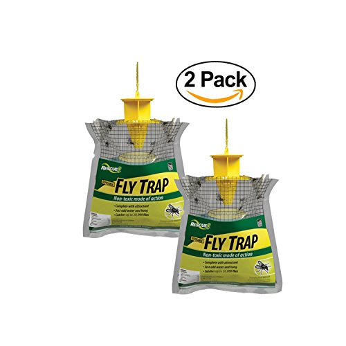 Rescue   Non Toxic Disposable Fly Trap  2 Pack