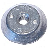 1/4-20 Spanner Nut Zinc (6 pieces)