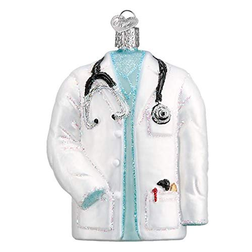 Old World Christmas Doctor's Coat (Ornaments Medical Christmas)