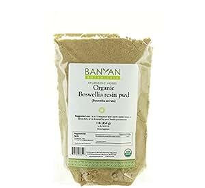 Banyan Botanicals Boswellia Powder - Certified Organic, 1 Pound - Boswellia serrata - Supports proper function of the joints*