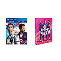 FIFA 19 - Champions Steelbook Edition [Esclusiva Amazon] - PlayStation 4