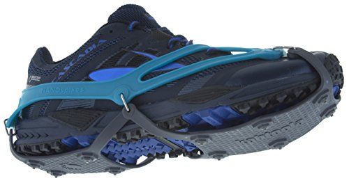 Footwear Traction (Kahtoola NANOspikes Footwear Traction (Teal, X-Large))