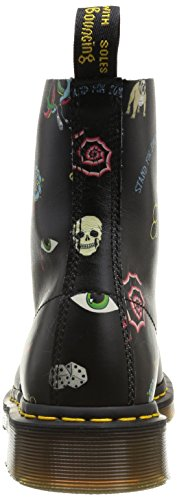 Dr. Martens Mens Pascal 8 Eye Boot Svart