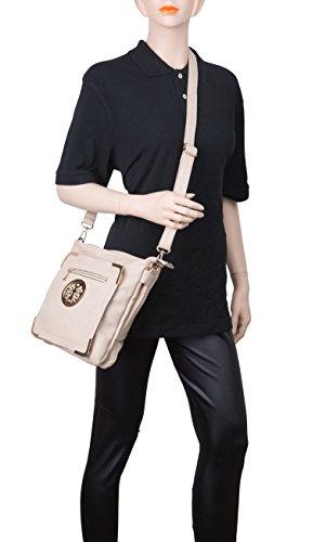 Closure Purse Bag Zip Bag for Multiple Crossbody Adjustable ~ ~ ~ top Strap ~ ~ Crossbody Crossbody Crossbody Crossbody Woman Crossbody Bag Purse Madonna Shoulder Crossbody with Pocket Purse Orange By Bag ~ PAxSw