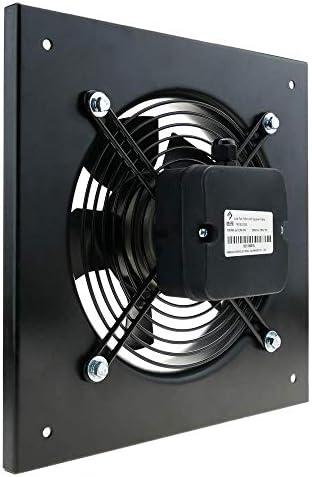 PrimeMatik - Extractor de Aire de Pared de 200 mm para ventilación ...