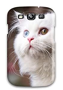 Tara Mooney Popovich's Shop Top Quality Rugged White Cat Case Cover For Galaxy S3 4498607K74075866
